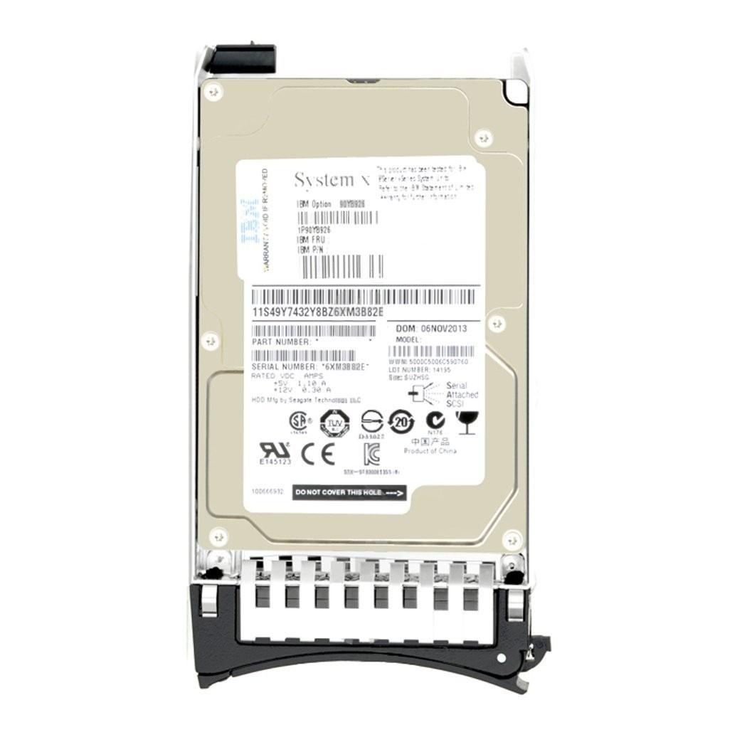 """IBM 39R7344 300GB SAS 3G 10K 3.5"""" LFF HDD Image"""