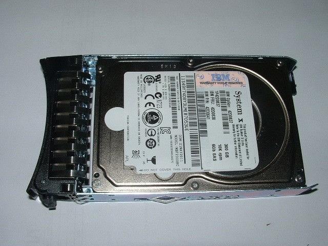 IBM 300GB 10K 6G SFF SAS HARD DRIVE Image