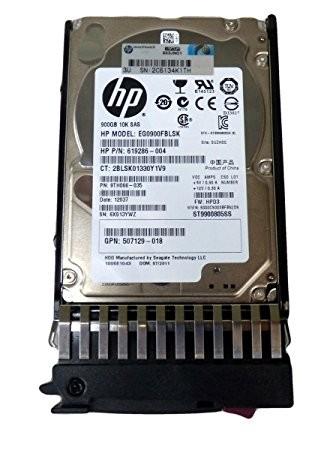 619286-004 HP 900GB 10K 6G SFF SAS SC HARD DRIVE Image