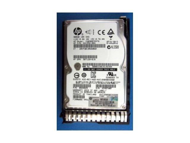 719429-001 HP 900GB 10K 6G SFF SAS SC HARD DRIVE Image