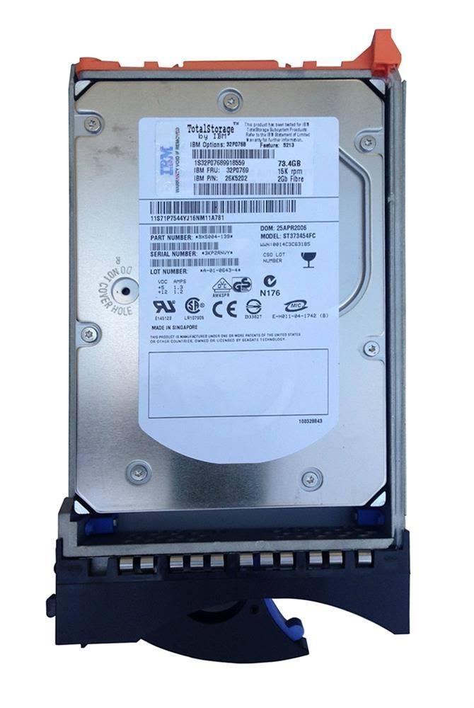 """HP 32P0769 73GB Fiber Channel 15K 3.5"""" LFF HDD Image"""