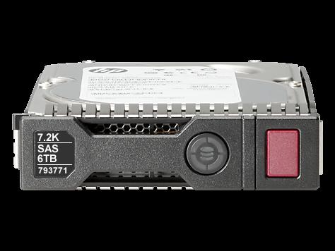 F/S F/s - HP 793699-B21 6TB 7.2K SAS 12Gb/s 3.5 HDD - G8/G9 Tra Image