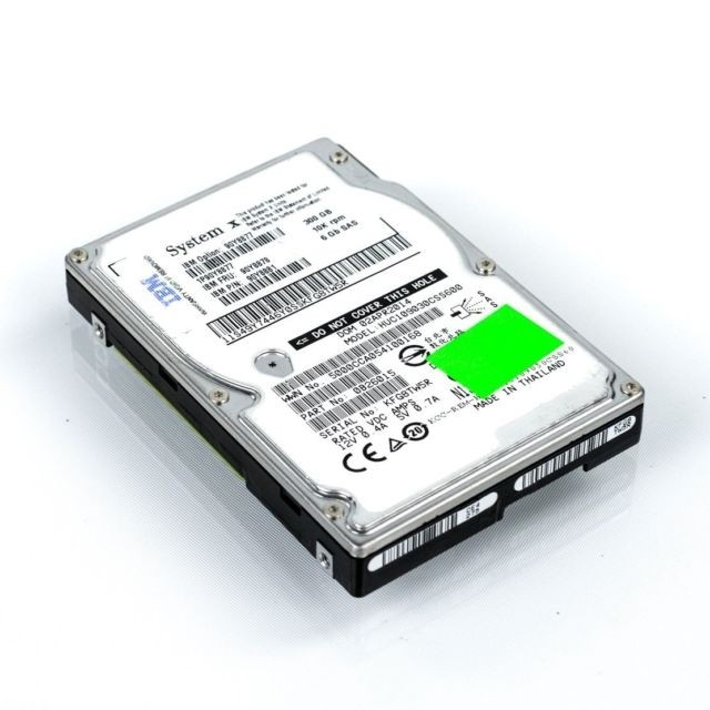 300GB 10K 6G SAS 2.5 HDD G2 HS equivalent to: 99001227 Image