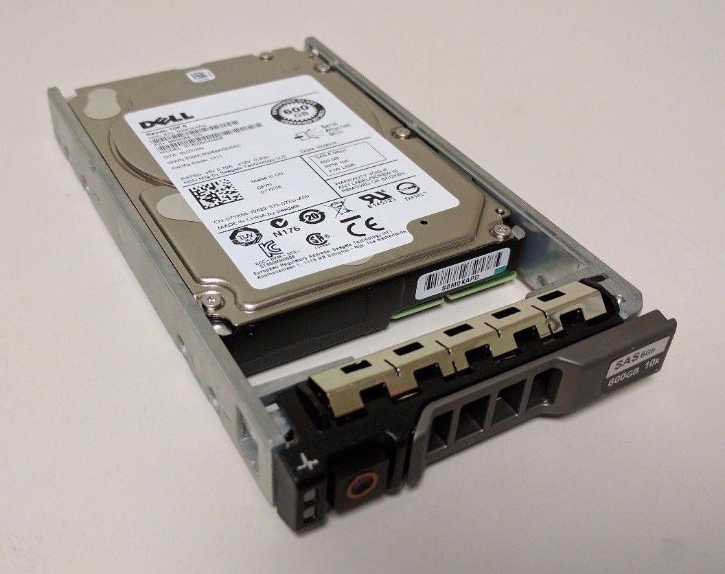 DELL 600GB 10K 6G SFF SAS HDD with Tray 0 hour Image