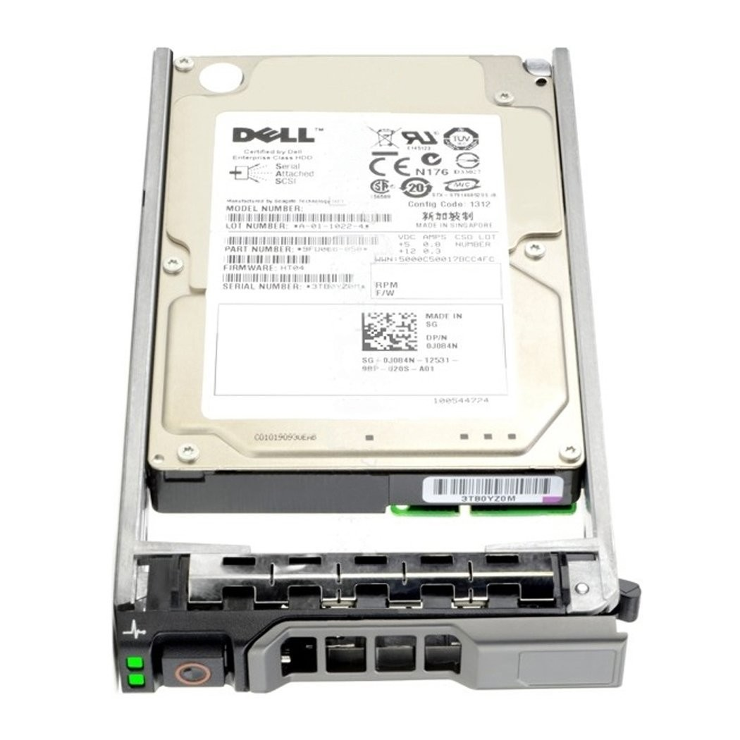 Dell 1.2TB 12GBPS 10K SAS 2.5 with Dell Caddy Image