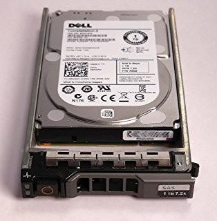 Dell / Seagate 1TB 7.2K RPM SAS 3.5 6Gb/s Hard Drive FNW88 Image