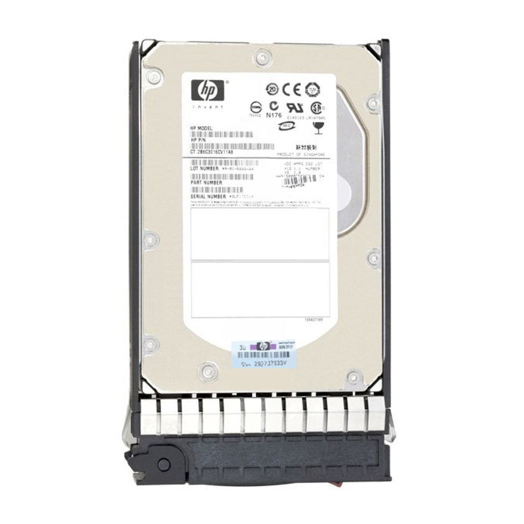 HP MSA 600GB 12G SAS 15K 2.5in ENT HDD Image