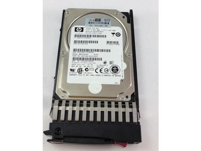 HP 300GB 6G SAS 10K 2.5in DP ENT HDD Image