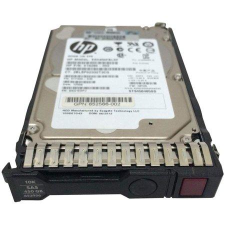 HP 450GB SAS 10K 6G 2.5 Hard Drive 653956-001 641552-002 652572 Image